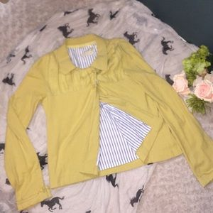 Anthropologie {Sparrow} cardigan jacket sz M